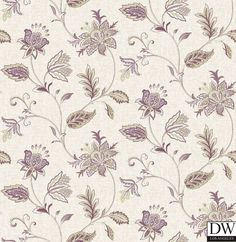 Georgette Burgundy Jacobean Wallpaper  [FFA-82006] Frederica Frontere   Color: Burgundy   DesignerWallcoverings.com   Luxury Wallpaper   @DW_LosAngeles   #Custom #Wallpaper #Wallcovering #Interiors