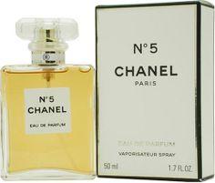 No. 5 by Chanel for Women, Eau De Parfum Spray, 1.7 Ounce - http://www.theperfume.org/no-5-by-chanel-for-women-eau-de-parfum-spray-1-7-ounce/