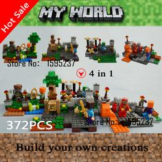 4PCS/lot Minecraft Steve Zombie Building Block Toys 79042 Action Figures For Gift compatible with Lego LR-560 - http://toysfromchina.net/?product=4pcs-lot-minecraft-steve-zombie-building-block-toys-79042-action-figures-for-gift-compatible-with-lego-lr-560