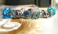 blue musical bracelet