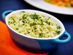 Veja conosco uma maravilhosa receita de arroz com couve-flor, super leve, saborosa e bem rápida