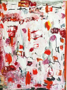 """Original #Collage painting """"red peppers"""" #abstract #marinadewit"""