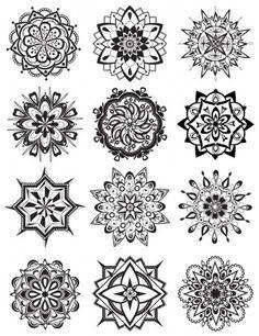 Mandala Coloring Pages - Dabbles & Babbles
