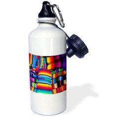 3dRose Textile market, Santiago, Guatemala - SA10 MDE0056 - Michael DeFreitas, Sports Water Bottle, 21oz