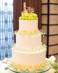 清楚&ふわふわ可愛い♡かすみ草ウェディングケーキデザイン**   marry[マリー]