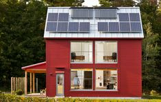 The Go Home, #LEED Platinum, Belfast, Maine by GO Logic - in my home town - yea!!!