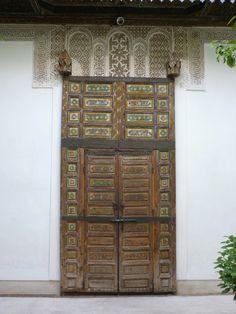 alte Tür Riad Medina