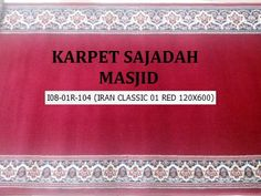 Jual Karpet Iranshar uk 600 cm x 120 cm - Kota Tangerang - Sentra_Masjid Antara, Turki, Outdoor Blanket, Personalized Items, Classic, Interior, Red, Indoor, Design Interiors