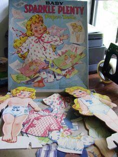 VINTAGE 1948: BABY SPARKLE PLENTY PAPER DOLLS