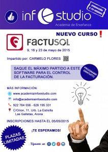 ¡No te lo pierdas! El curso de #FactuSOL único en #Tenerife... Gestiona toda tu empresa con un programa 100% gratuito.