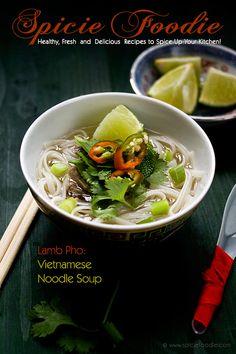 Lamb Pho Recipe