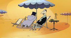 Moomin papa