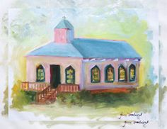 This is one of my favorites on designfolly.com: Pawleys Island Chapel, Canvas Print