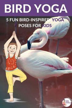Bird Yoga poses for kids