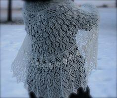 'Monica' lace shawl go to page for several pages of charts  Посмотрите запись, чтобы узнать подробности.