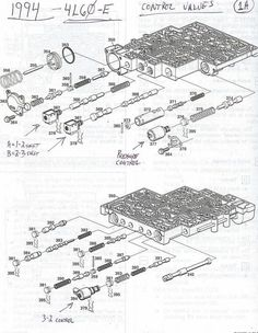 1997 4l60e valve body diagram wiring diagram post Body Diagram for Charting check ball locations in gm s 4l60e transmission valve bodies there 4l60e valve body breakdown 1997 4l60e valve body diagram