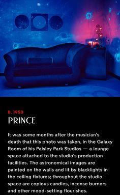 A room at Paisley Park.