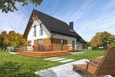 C24/001 - Budowa domów szkieletowych kanadyjskich Rzeszów #daszer #dompiętrowy #projektdomu #dom #domszkieletowy #houseproject #houseofwood Gazebo, Outdoor Structures, Cabin, House Styles, Home Decor, Homemade Home Decor, Kiosk, Cabins, Cottage