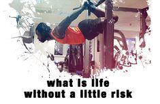 #risk #calisthenics #motivational #Gymantix #sundayquote #personaljourney #health #sportgraphics Risk Quotes, Sports Graphics, Sunday Quotes, Take Risks, Calisthenics, Tgif, Happy Friday, Quote Of The Day, Motivational