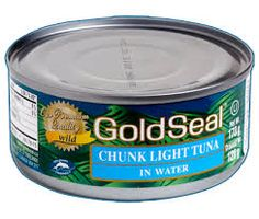 Greenpeace's Canned Tuna Sustainability Ranking reveals which brands to buy, and which brands still source overfished species or use destructive fishing techniques. Fishing Techniques, Seal, Coupon, Tuna, Canning, Interesting Stuff, Sustainability, Random, Gold