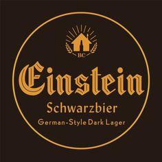 Einstein Beer Label Design for Beer Creative College of Fermentation