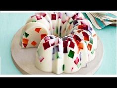 Gelatina de mosaico riquisima y muy facil -Jenny Salas - YouTube