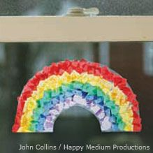 Tissue Paper Rainbow - National Wildlife Federation