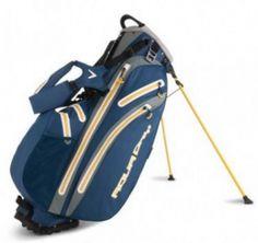 """Bolsa de palos de golf Callaway Aqua Dry con trípode. La bolsa para palos de golf Aqua Dry de Callaway es una bolsa con trípode que con una boca de acceso de 9,5"""" con sistema organizador de palos de 5 divisiones con asas de agarre integradas"""