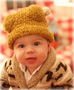"Jamie in his turkey drumstick hat and ""Big Lebowski"" sweater"