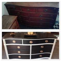 If you're SO over your old dresser, this might be the most stunning way to dramatically transform it!