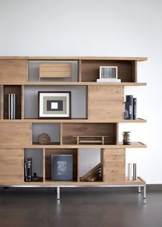 OAK LIGNA Bookcase By Ethnicraft Styling Office Bookshelves Modern Bookcases