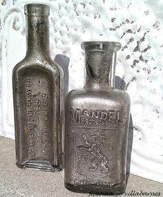 villabarnes: Bottle Love - a look similar to mercury glass