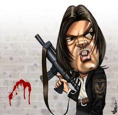 [ Antonio Banderas ] - artist: Mike Giblin - website: http://mikegiblin.blogspot.com/