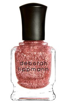 Sprinkle over two coats pale pink + two coats DL Diamonds and Pearls = gorge $18 #glitter #pink