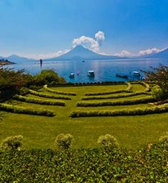 Hotel Atitlan - Enjoy the most beautiful landscape of Guatemala surrounded by Tolimán San Pedro, and Atitlán Volcano and its beautiful lake
