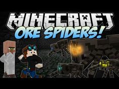 ▶ Minecraft | ORE SPIDERS! (Can You Fight & Claim the Riches?!) | Mod Showcase - YouTube