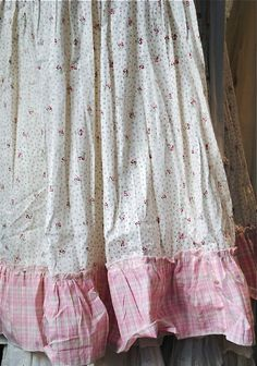 floral and gingham Looks like the most comfy nightgown ever!