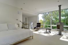 White and bright bedroom