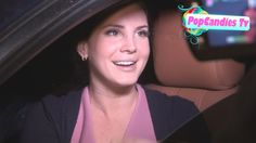 Lana Del Rey looks delectable while greeting fans with a friend departin...