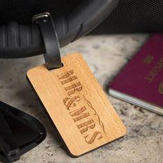 Aronas Leather Keyring Birthday Name Optional Engraving