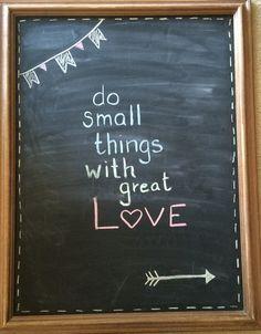 Spring chalkboard update