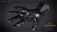 ArtStation - Bionic Hand , Ivan Santic