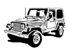 Jeep - Transportation - User Gallery - Scroll Saw Village