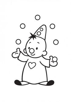 juggle coloring pages