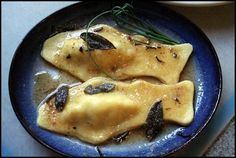 Smoked trout ravioli - Kitchen Witch