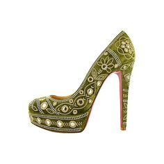 Christian Louboutin 2012 ❤ liked on Polyvore featuring shoes, pumps, heels, christian louboutin, louboutin, sapatos, christian louboutin pumps, christian louboutin shoes and heel pump