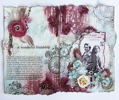 Art Journal - Scraps of Elegance