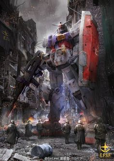 GUNDAM GUY: Awesome Gundam Digital Artworks [Updated 6/8/15]
