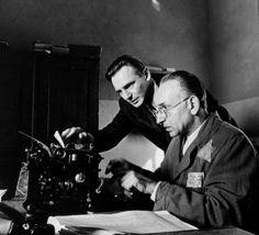 "Ben Kingsley y Liam Neeson en ""La lista de Schindler"", 1993"