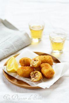 Un dejeuner de soleil: Croquetas espagnoles au jambon